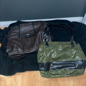 Olive and Black Miche Bag 💼 Excellent Condition